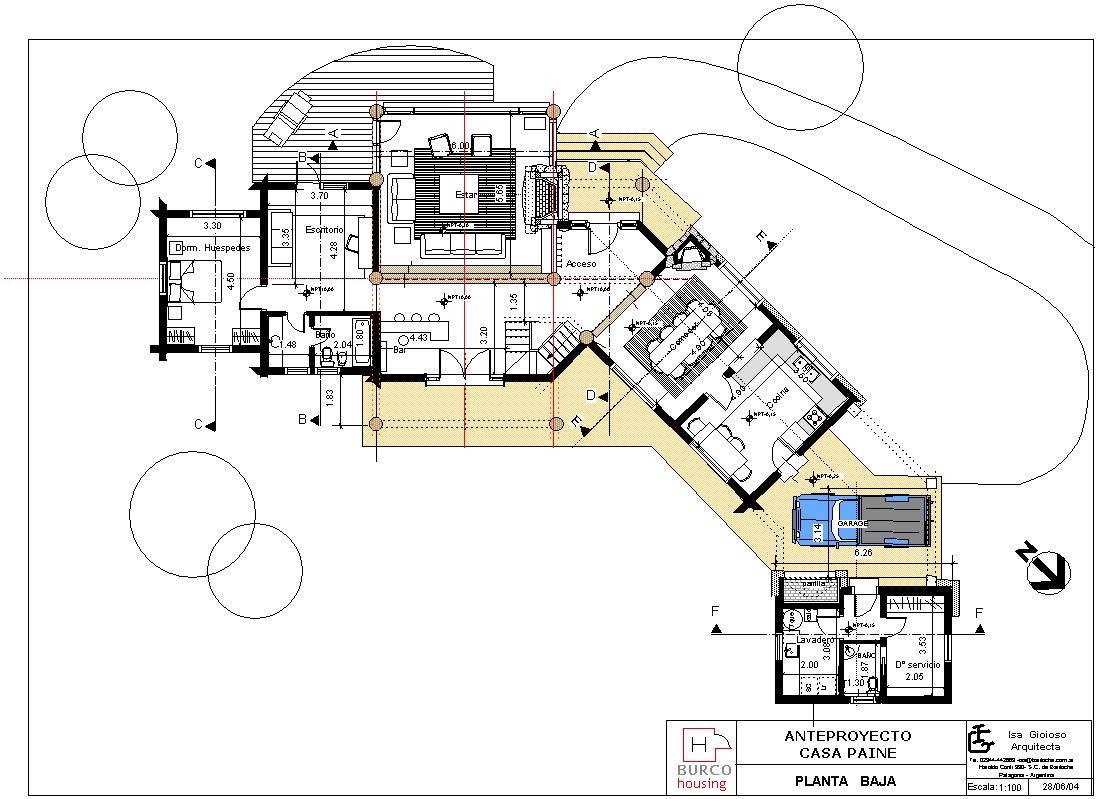 Casa paine for Rental property floor plans